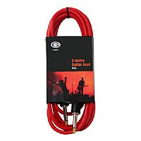 10FOOT GUITAR LEAD - RED