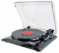 ION PROFILE LP - USB TURNTABLE, BLACK PROFILE LP