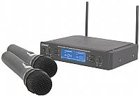 Citronic MU26H Dual UHF 16 Channel Wireless Handheld Microphone System