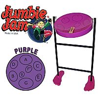 JUMBIE JAM STEEL PAN IN PURPLE