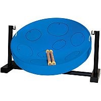 Jumbie Jam Table Top Steel Pan in Blue