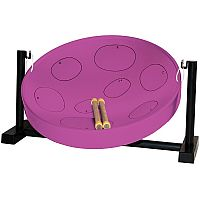 Jumbie Jam Table Top Steel Pan in Purple