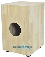 Chord French wood Cajon Drum Box with protective carry Bag (CCAJ48F)
