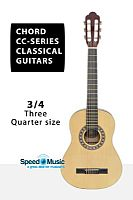 Chord CC Series Classical Guitar 3/4 Three Quarter Size