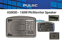 Pulse ASM5D 150watt Portable PA System / Monitor System