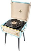 GPO Bermuda - Retro style Turntable with Removable Legs