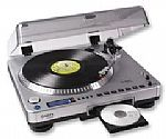 ION LP2CD USB TURNTABLE with CD Writer