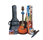 Ashton SPD25 full-size Acoustic Guitar package