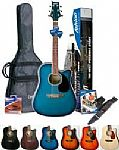 Ashton SPD25CEQ Electro Acoustic Guitar package