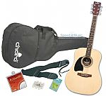 Chord CW26 Acoustic Guitar Package (left handed)