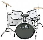 Chord ADK5-BK Drum Kit in White
