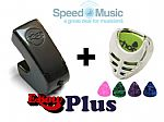 Ebow Plus Hand Held Sustainer: bundled with Plectrum-Holder & Picks