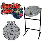 JUMBIE JAM STEEL PAN IN GREY STEEL