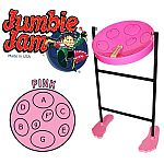 JUMBIE JAM STEEL PAN IN PINK