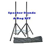 QTX Speaker Stand Kit With Bag