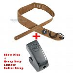 THE  EBow Plus Sustainer Bundled with Leather Guitar Strap