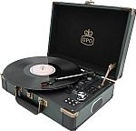GPO Ambassador Retro Style Briefcase Turntable
