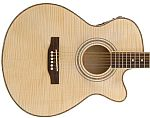 Chord N5FM Native Flame Maple Electro-Acoustic Guitar